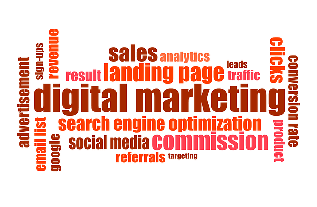List of digital marketing agency services.