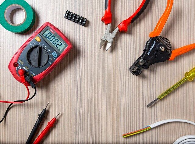 Electrical contractor tools.