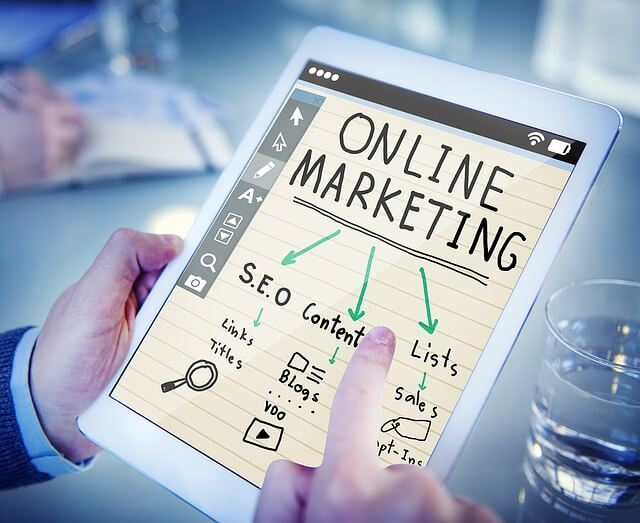 Many different online marketing options.