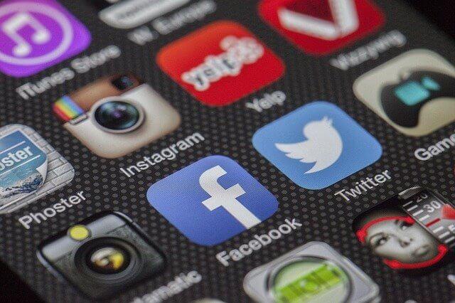 Social media sites.