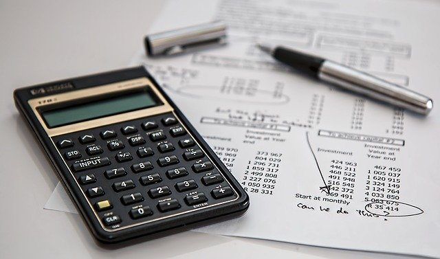 A tax specialist with a calculator.