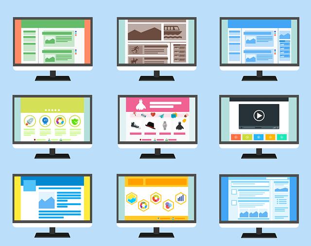 Types of websites.